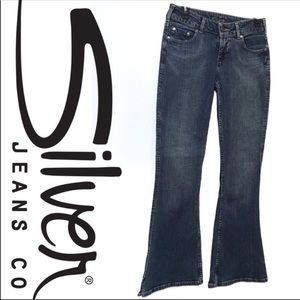 Silver Jeans Matrix Wide/Flare/Bell Bottoms 27/31